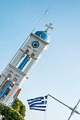 Virgin Mary at Panagia Pantanassa on Vistonida Lake in Porto Lagos, Xanthi, Greece.