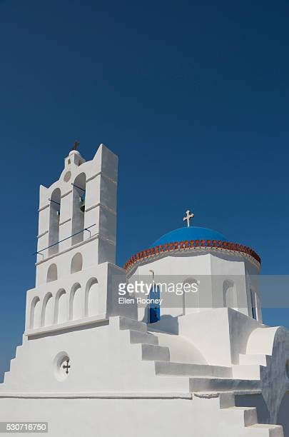 The church of Panayia Poulati; Sifnos, Cyclades, Greek Islands, Greece