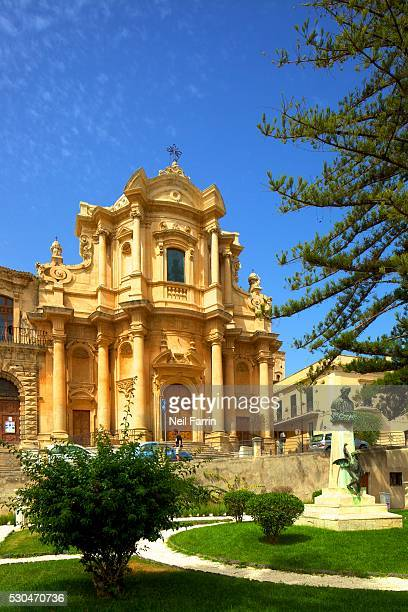 The Church of San Domenico, Noto, Sicily, Italy, Europe