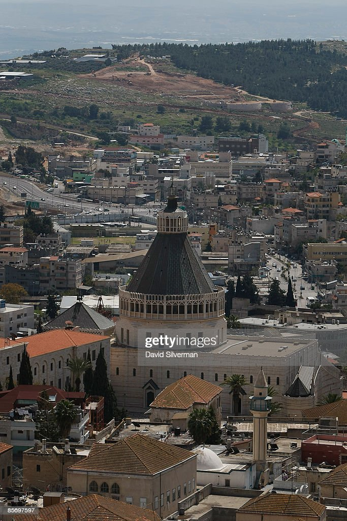Nazareth Prepares To Receive Pope Benedict Photos and Images – Who Announced the Birth of Jesus