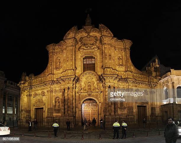 La iglesia de la sociedad de jesús, Quito
