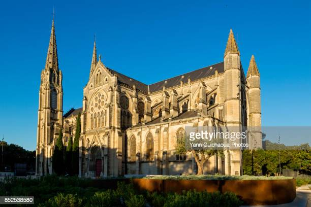 The church Saint Baudile, Nimes, Gard, France