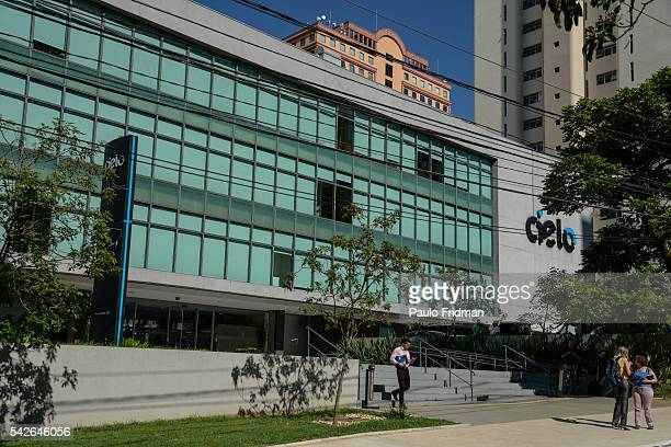The Cielo headquarters on Tuesday January 2014 Alphaville Barueri Brazil CIELO is the largest Lat Am credit/debit card company