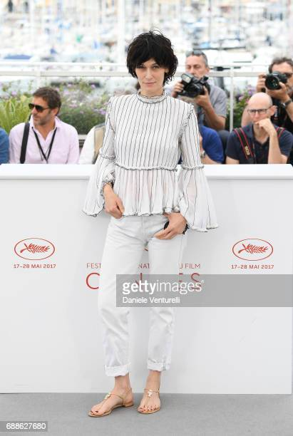 The Cinefondation and Short Films Jury member Clotilde Hesme attends the Jury Cinefondation during the 70th annual Cannes Film Festival at Palais des...