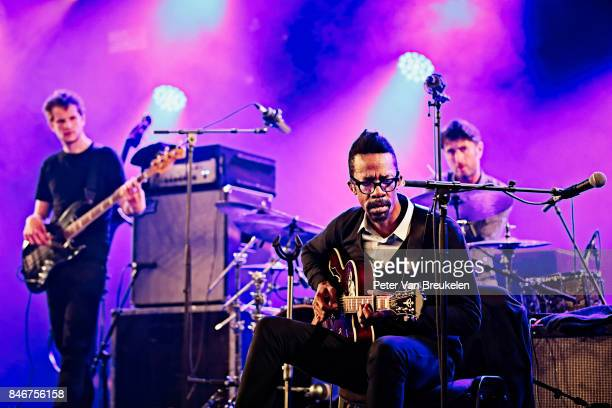 The Cinematic Orchestra Performs at Jazz Middelheim Festival on August 04 2017 in Antwerp Belgium