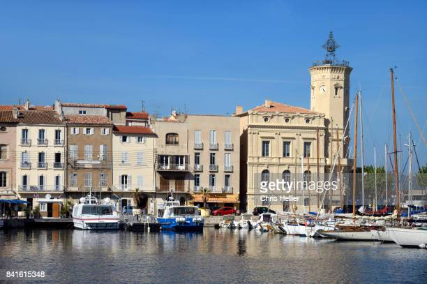 The Ciotaden Museum on the Quay of the Old Port, La Ciotat, Provence France