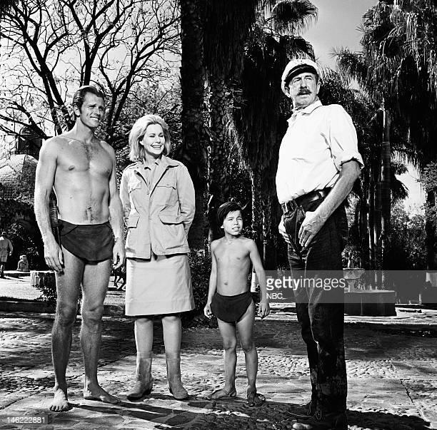 TARZAN 'The Circus' Episode 28 Pictured Ron Ely as Tarzan Sally Kellerman as Ilona Manuel Padilla Jr as Jai Chips Rafferty as Dutch Jensen