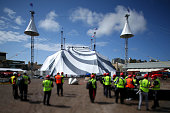 New Big Top Installed Ahead Of Cirque du Soleil's New...