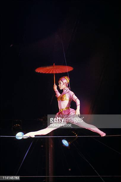 The Cirque du Soleil In Montreal Canada On April 28 1992