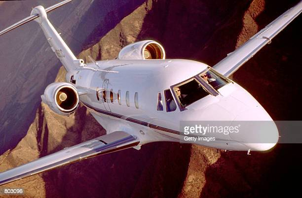 The Citation VII a corporate jet in an undated file photo may one model that will be used by United Airlines to win the premiumclass customers it has...
