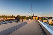 The City bridge (Byens bro) in Odense, Denmark.