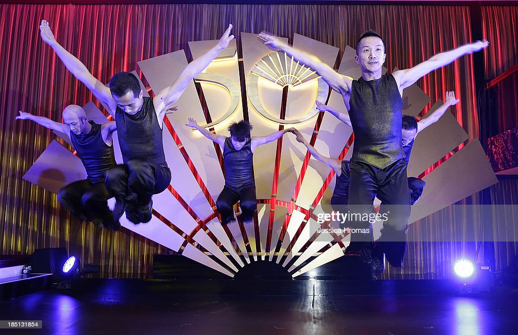 The City Contemporary Dance Company performs at the Mandarin Oriental Hong Kong 50th Anniversary Gala on October 17, 2013 in Hong Kong, Hong Kong.