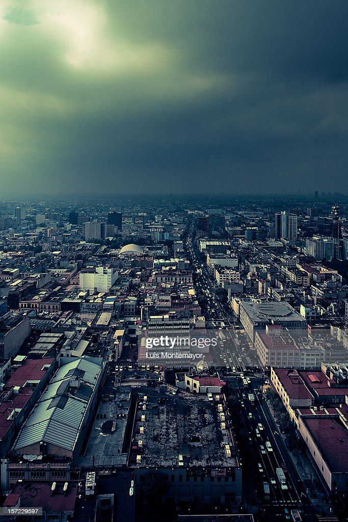 The City I Live In : Stock Photo