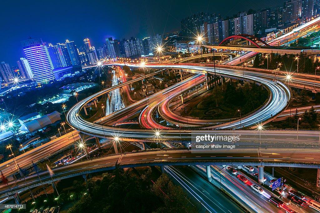 The city lifeline : Stock Photo