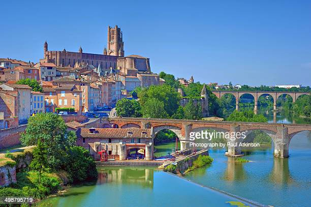 The City of Albi, Tarn Department, France