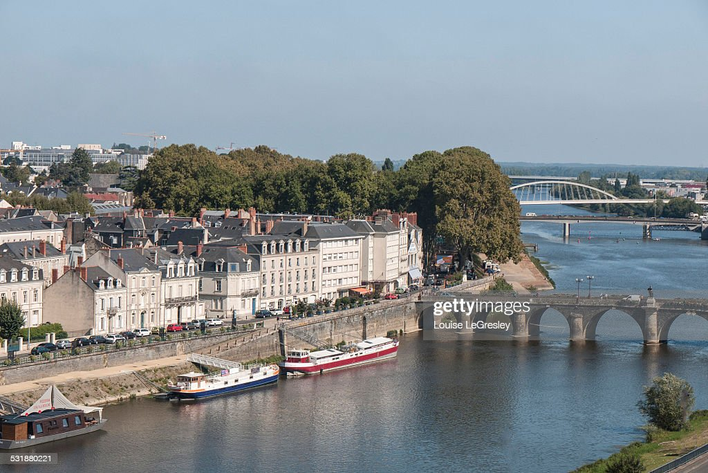 The city of Angers, France