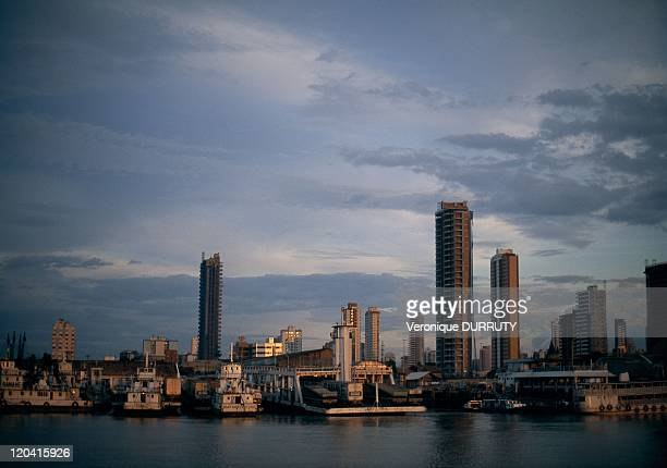 The city of Belem view from the Amazon river in Belem Brazil Caliente
