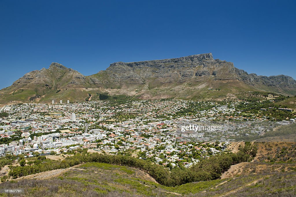 The city of Cape Town in South Africa : Stock Photo