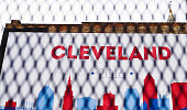 The City of Cleveland has been fenced off to increase security surrounding the Quicken Loans Arena the day before the start of the Republican...
