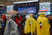 The city of Hamburg was the second European venue to participate in the Live Earth concert series Saturday and many thousands braved rain and low...