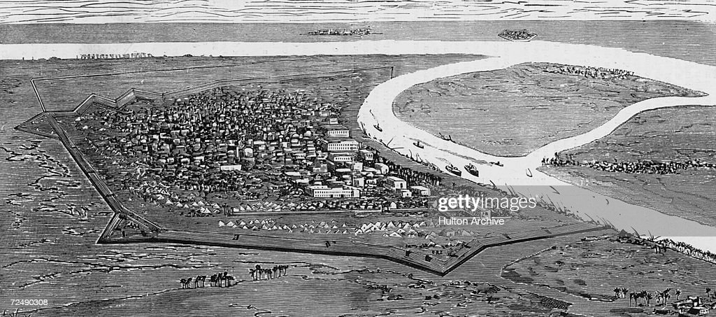 The city of Khartoum in the Sudan at the time of General Wolseley's expedition to relieve the beseiged British garrison there 1884 Upon his arrival...