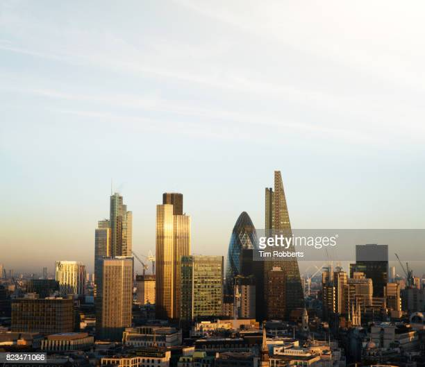 The City of London finance district.