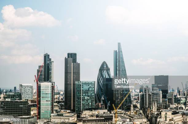 The City of London finance district