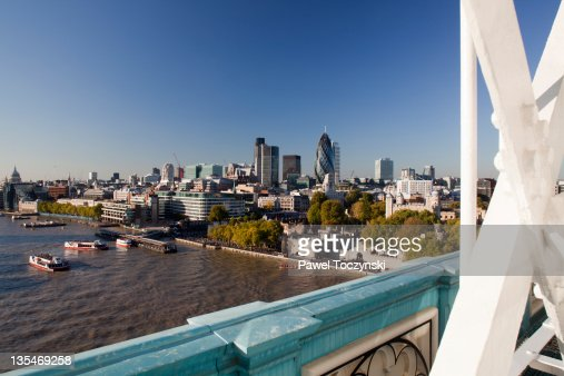 The City of London skyline in 2011 : Stock Photo