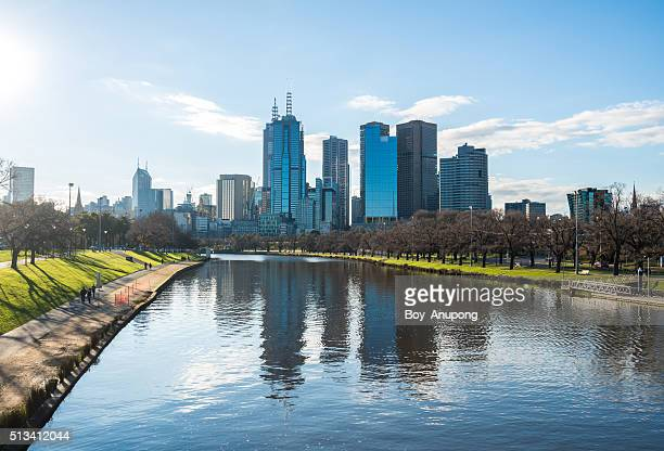 The city of Melbourne, Australia.
