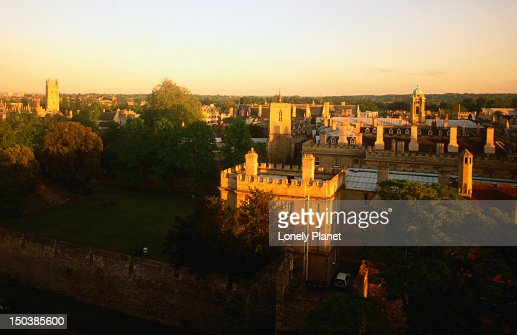 The city of Oxford from New College