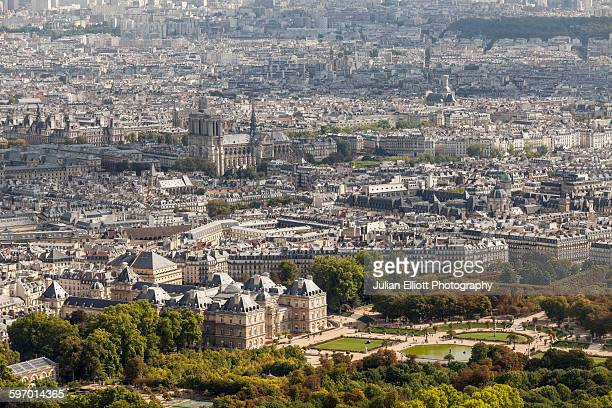 The city of Paris in France