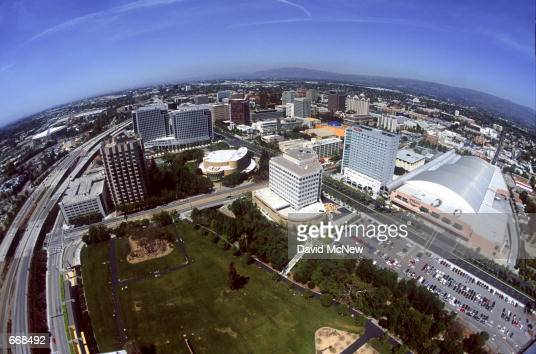The city of San Jose sprawls through California's Silicon Valley April 2000 in San Jose CA San Jose is experiencing a boom due to the large number of...