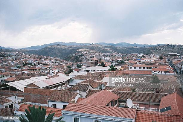 The city of Sucre, Unesco's World Heritage