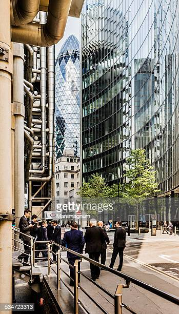 The City, view near the Lloyds Building