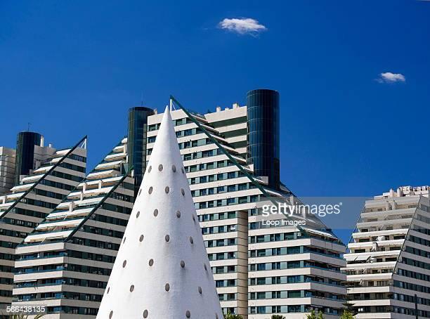 The Ciudad de las Artes y las Ciensias