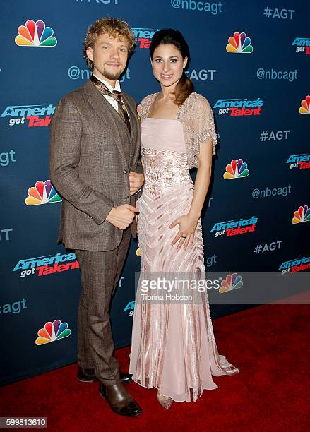 The Clairvoyants Thommy Ten and Amelie van Tass attend 'America's Got Talent' Season 11 Live Showat Dolby Theatre on September 6 2016 in Hollywood...