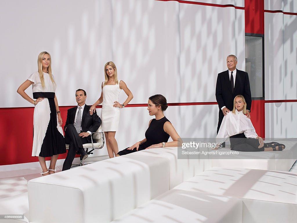 Clarins Family, Madame Figaro, September 19, 2014