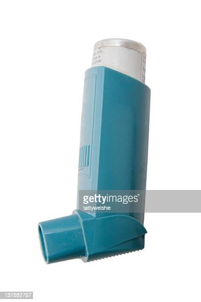 The classic blue asthma inhaler