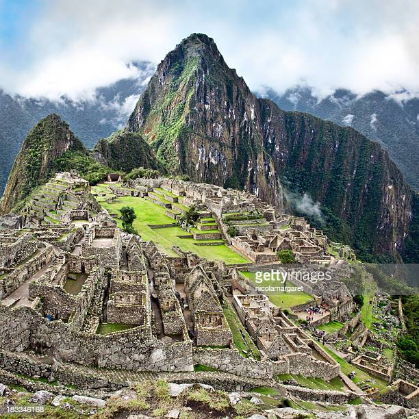 The Classic shot of Machu Picchu