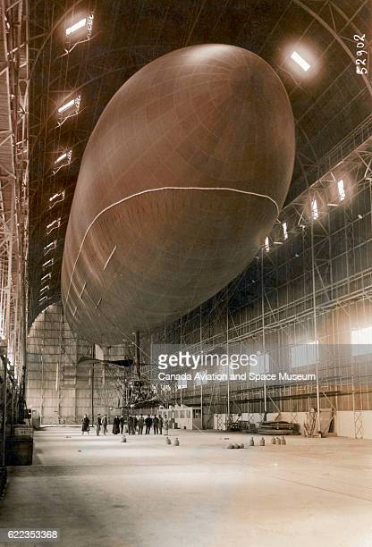 The ClementBayard II was the biggest airship in France when it built in 1910 | Location LamotteBreuil France