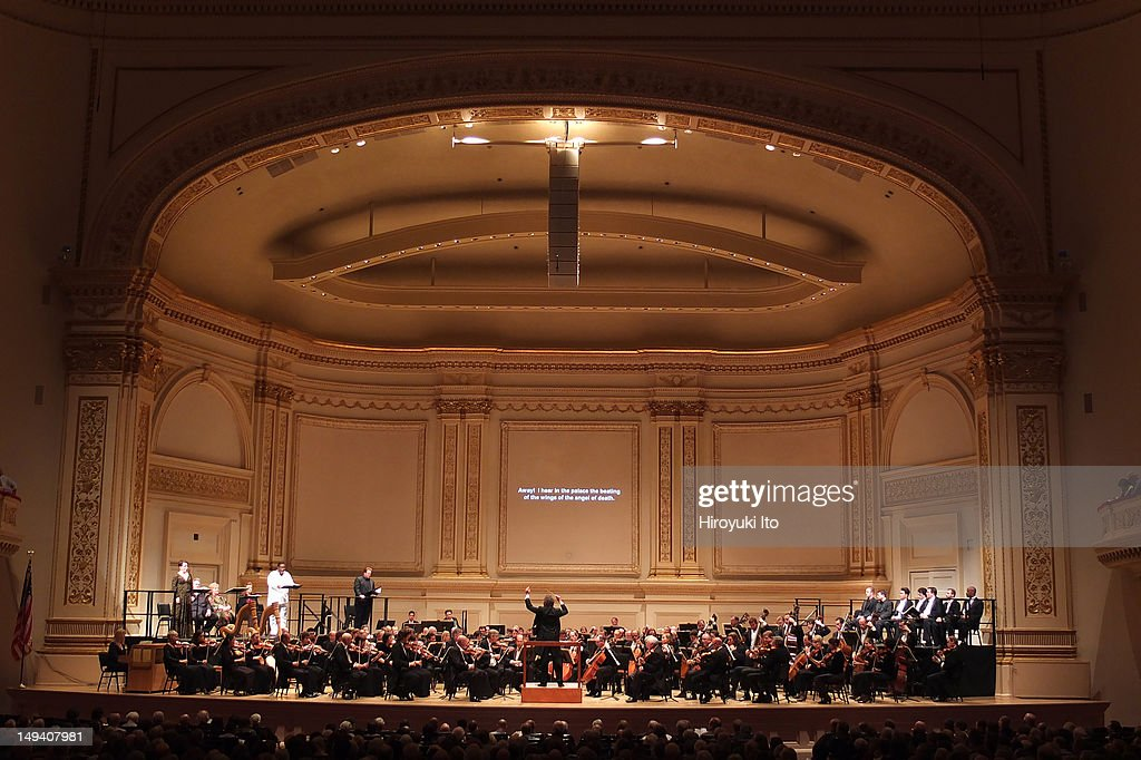 The Cleveland Orchestra performs Strauss's 'Salome' at Carnegie Hall on Thursday night May 24 2012Image shows Franz WelserMost leading the Cleveland...