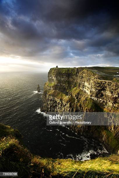 The Cliffs of Moher in evening light, Ireland