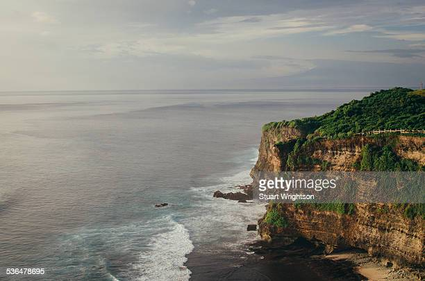 The cliffs of Uluwatu in Bali