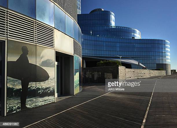 The closed 1399 room Revel casino stands on the northernmost end of Atlantic City's boardwalk on August 28 2015 in Atlantic City New Jersey New...
