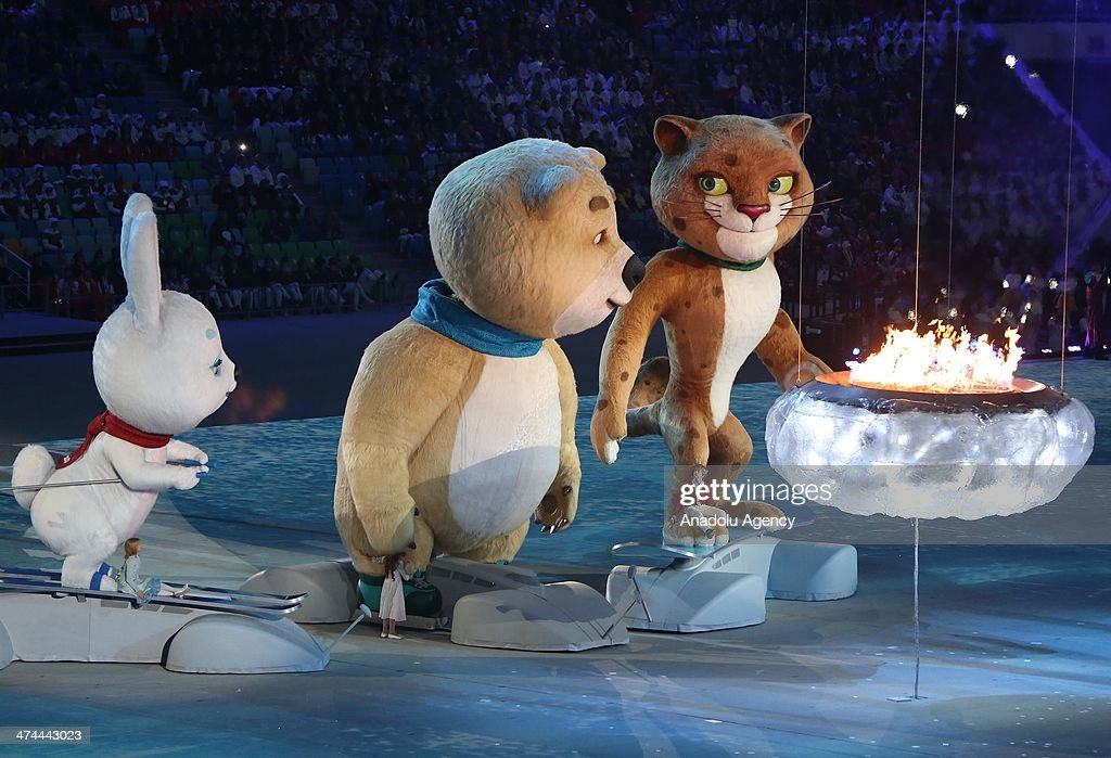 The Closing Ceremony of the Sochi 2014 Winter Olympics at Fisht Olympic Stadium on February 23, 2014.