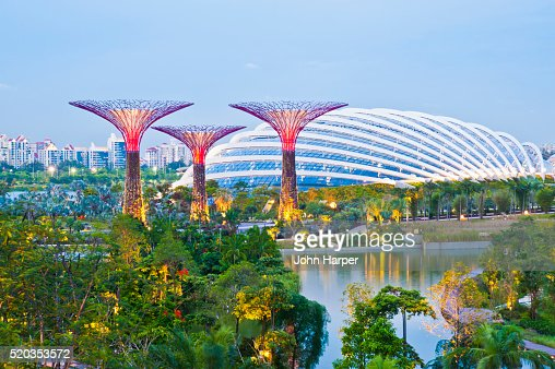 keywords color image gardens by the bay