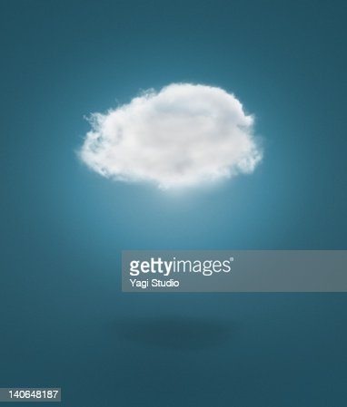 The cloud network : Stock Photo