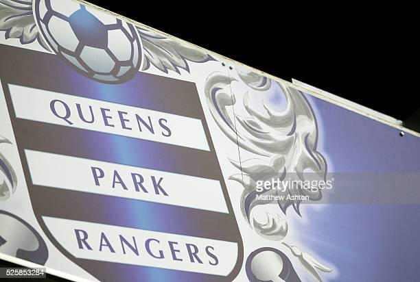 The club badge of Queens Park Rangers