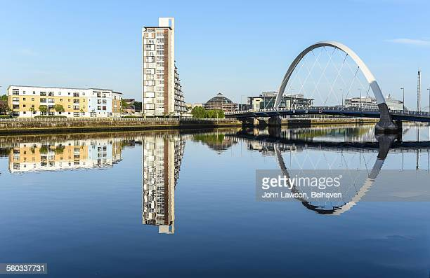 The Clyde Arc or Squinty Bridge, Glasgow