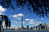 The CN Tower and the Skydome highlight the Toronto skyline in his undated file photo The International Olympic Committee meets in Moscow July 13 2001...